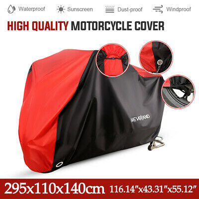 XXXL Motorcycle Motobike Bike Cover Waterproof Outdoor Rain Dust Snow Protector  • 14.99£