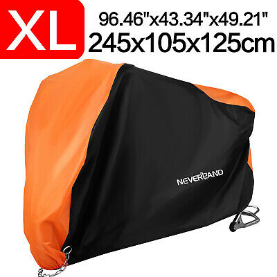 XL Motorcycle Motorbike Cover Waterproof Outdoor UV Rain Dust Protector Scooter • 14.59£
