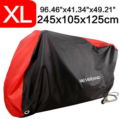 XL Waterproof Motorcycle Scooter Cover Outdoor Motorbike Rain Dust UV Protector • 12.99£