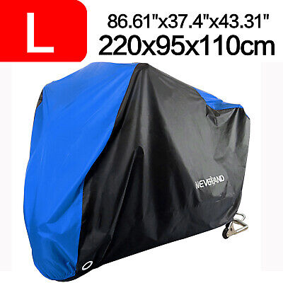 Large Motorcycle Scooter Rain Cover Waterproof Rain Protector Outdoor Motorbike • 12.25£