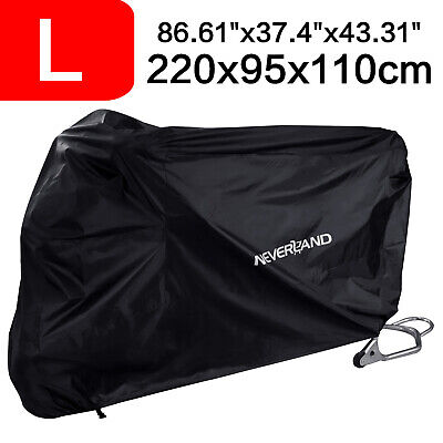 Medium Motorcycle Motorbike Moped Cover Waterproof Rain Protector Vented Scooter • 10.99£