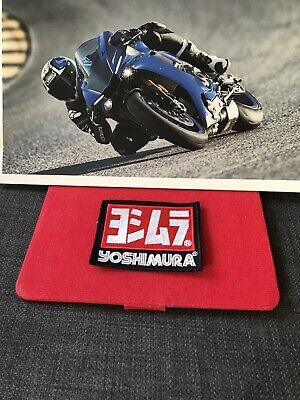Yoshimura Exhaust Clothing Leathers Patch • 3.50£