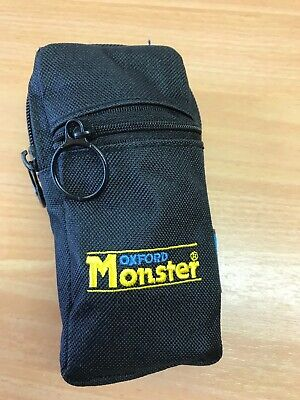 OXFORD MONSTER MOTORCYCLE DISC LOCK USED Postage Paid • 23£