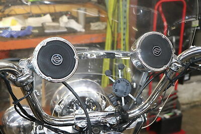 #3013 -  Harley Boom! Audio Bluetooth Cruiser Amp And Speaker Kit *WATCH VIDEO • 112.40£