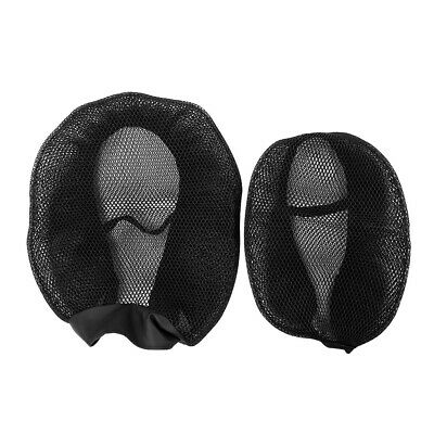 Motorcycle Cover Motorcycle Seats Breathable Mesh Cushion Protector Saddle Cover • 12.70£