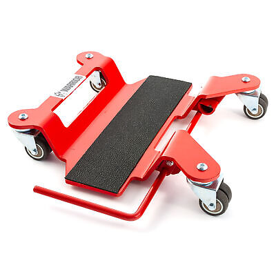 Warrior Deluxe Motorcycle Bike Centre Stand Mover - Up To 350kg • 68.99£