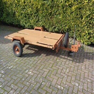 Motorcycle Trailer 1-3 Bikes, Galvanised Bed, Indispension Units, Loading Ramp, • 250£