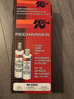 KN Recharger Kit (99-5050) K&N Air Filter Cleaner And Oil Service Kit • 5£
