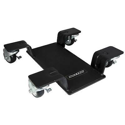 BikeTek Deluxe Motorcycle | Motorbike Centre Paddock Stand Mover / Garage Dolly • 94.99£