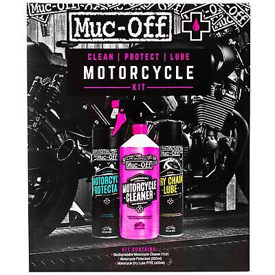 Muc-Off Clean Protect And Lube Bike Motorcycle MC Motorbike Kit - M672 • 23.39£