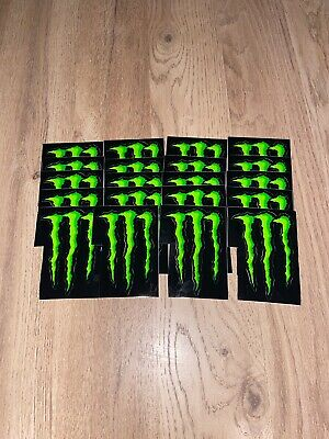 Official Monster Energy Stickers 20 For £5 • 5£