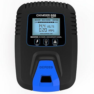 Oxford 900 Anniversary Oximiser Uk Battery Charger Motorcycle Optimiser • 28.99£