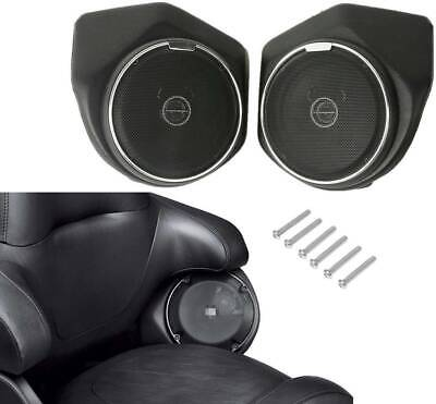 Rear Speaker For Harley Tour Pak Touring Street Glide Road King 2014-20 17 18 19 • 85.43£
