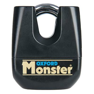 Oxford Monster Ultra Strong Motorcycle Motorbike Padlock Only • 44.99£