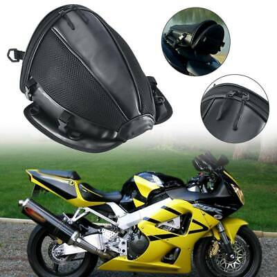 Motorcycle Tail Back Seat Storage Carry Hand Shoulder Waterproof Saddle Bags • 9.99£