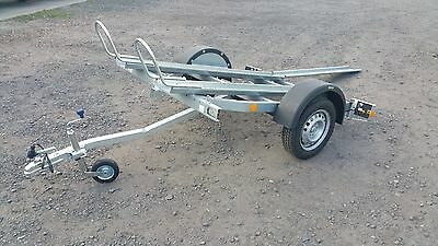 Motorcycle Trailer, Bike Trailer 750kg Singe Axle Brand New • 679.99£