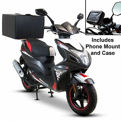 Motorcycle Food Delivery Starter Kit-Phone Mount + Pizza Box With Wooden Board • 44.99£