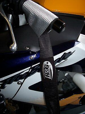 R&G Racing Motorbike / Motorcycle Top Handlebar Tie Down Top Straps  • 15.95£
