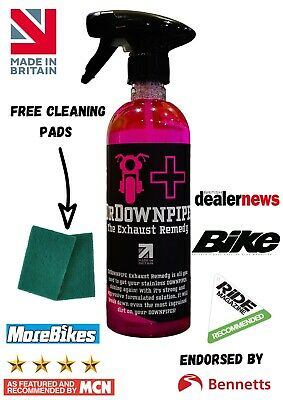 DrDownpipe Motorcycle Exhaust Cleaner Downpipe Down Pipe Cleaner Dr Downpipe • 16.99£