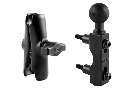 Ram Mount Brake Or Clutch Clamp Mount With 1  Ball & Double Socket Standard Arm • 39.99£
