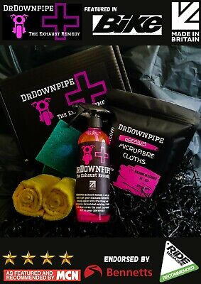 DrDownpipe Motorcycle Exhaust Cleaner Xmas Gift Box Dr Downpipe Stocking Filler • 18.99£