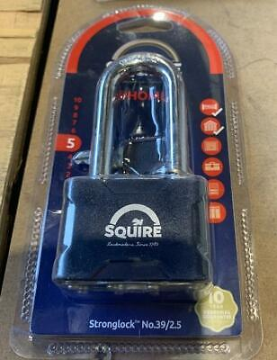 Squire Stronglock Laminated Double Locking Padlock 50mm - 2.5  Shackle • 8.50£