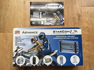 Starcom 1 Advance Motorbike Communication System X 2 • 99£