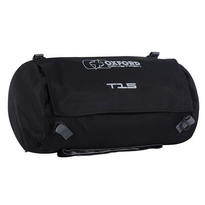 Oxford DryStash T15 Waterproof Motorbike Motorcycle Roll Bag Tail Pack 15L • 21.99£