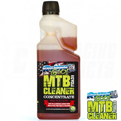 Concentrated Dual Purpose Bike And Chain Cleaner Degreaser By MTB Rhino Goo • 16.99£