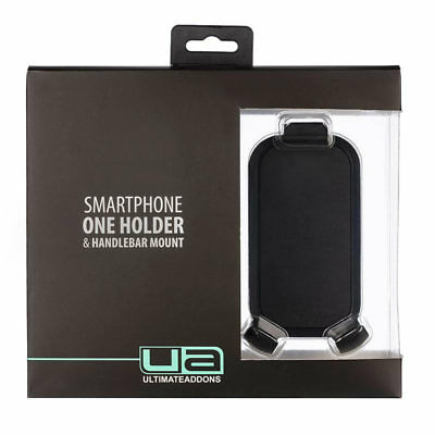 Ultimateaddons Motorcycle Universal Mount One Box Mobile Phone Holder Holder W/H • 28.99£