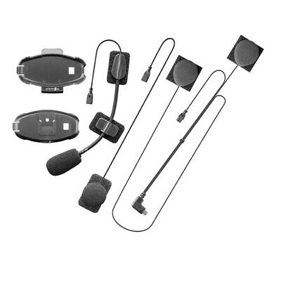 Interphone 2019 Active/Connect Motorcycle Intercom Audio Headset Kit • 29.99£