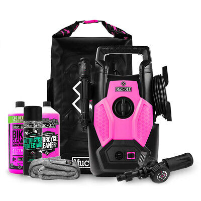 Muc Off Moto MTB Cycle Pressure Washer Mega Bundle Cleaning Deal • 149.99£