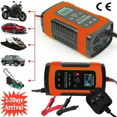 Automatic Intelligent 12V Motorcycle Motorbike Battery Charger Smart Trickle NEW • 15.99£