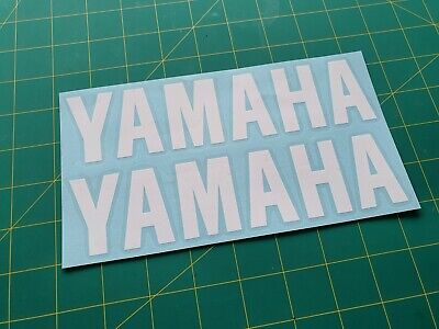 YAMAHA Stickers Decals For Wheels Panels - 100mm X 23mm - Multiple Colour Choice • 1.99£
