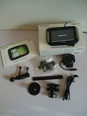 Tomtom Rider 450...lifetme Updates , Cameras , Maps , Traffic • 200£