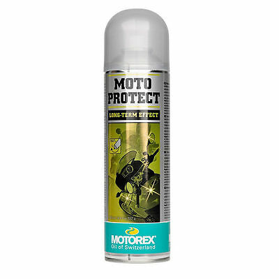 Motorex Moto Protect Long Term Effect Motorcycle Protection Spray Aerosol 500ml • 15.99£