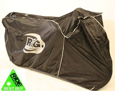 R&G Racing Outdoor Motorcycle Cover (Black) For Supersport/Superbikes BC0006BK • 41.99£