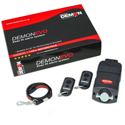 Datatool Demon Motorcycle Motorbike Evo Compact Self Fit Alarm System • 89.45£