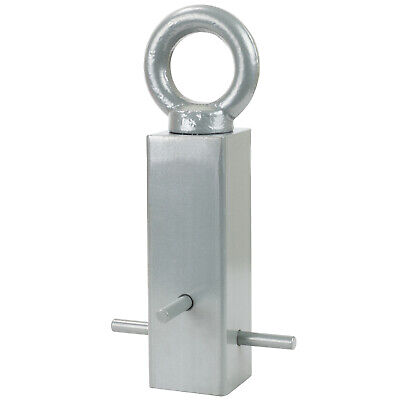 Hardcastle Silver Permanent Cement In Hoop Security Chain Ground Anchor Concrete • 22.99£