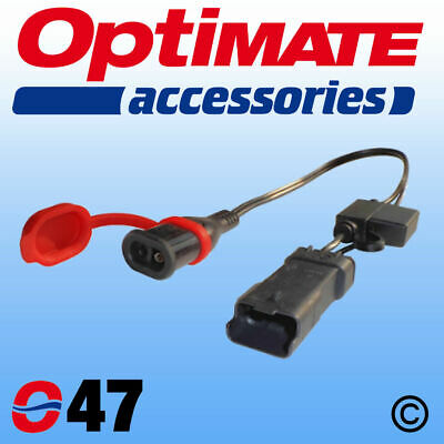 Motorcycle Bike Optimate 30cm 5A Charger SAE To Ducati Plug Lead Adapter O47 • 25.95£
