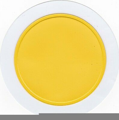 STYLARIZE® Car Parking Permit Holder / Road Tax Disc Holder Self Adhesive Yellow • 0.99£