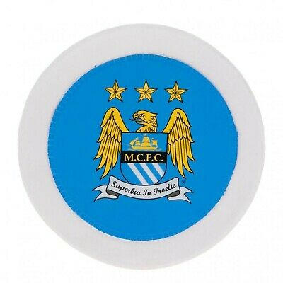 Manchester City Round Tax Disc Holder - Multi-Colour • 20.12£