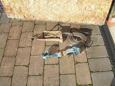 Two Well Used Lorry Tie Downs. • 5£