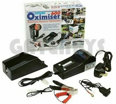 OXFORD 600 Oximiser Battery Charger Motorcycle Motorbike Trickle Scooter Honda • 29.99£
