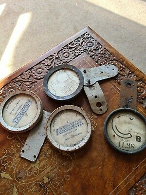 1930s Motorcycle Tax Disc Holders Rare  • 19.40£