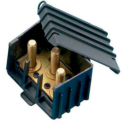 Auto Electrical 3 Way Power Connecting Jointing Box 120 Amp Rating Ideal Rally • 12.65£