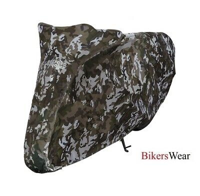 Oxford Aquatex Camo Essential Motorcycle Waterproof Medium M - Bike Cover CV212 • 24.49£