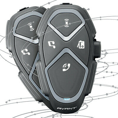 Interphone Avant Twin Pack  Bluetooth,quality Music & GPS Directions TP • 323.99£