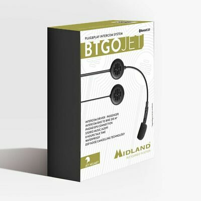 Midland BTGO The Invisible Solution For Open Face Helmet  • 85£