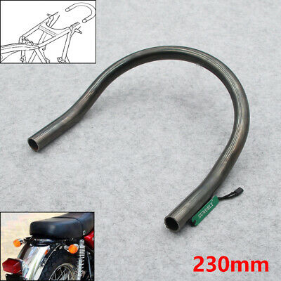 Bent Tail Cafe Racer Seat Frame Hoop Loop Brat Style Flat Steel Bare Iron 230mm • 9.33£